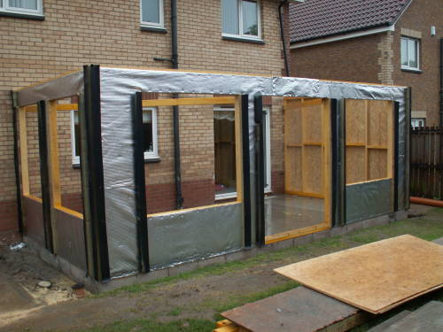 Diy house extensions uk